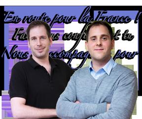 留学法国面签辅导 Hugo老师和外教